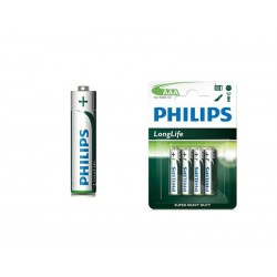 Bateria Philips Long Life AAA R03