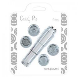 Masturbator dla pań Candy Pie, silver