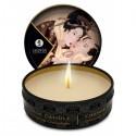 Mała świeca do masażu o zapachu czekolady - Shunga Excitation Massage Candle 30 ml