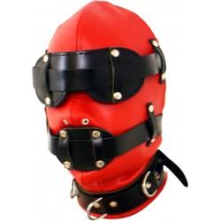 Strasząca maska z zamkiem