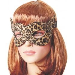 Maska panterka z otworami na oczy