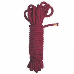 Sznur do praktyk bondage 10mb 7mm czerwony