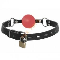Knebel z czerwoną kulką