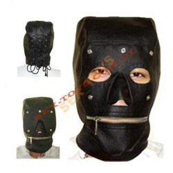 Maska Ninja z zamkiem + odpinana opaska na oczy