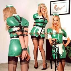 Zestaw pasów krępujących ciało BDSM