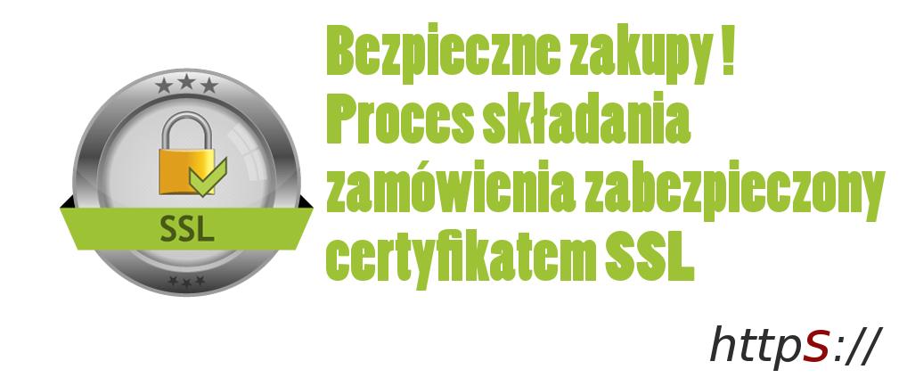 Strona zabezpieczona certyfikatem SSL